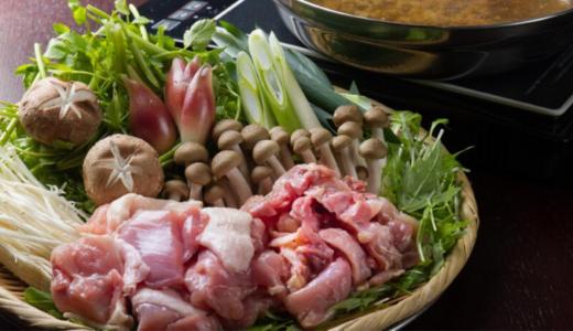 京都「とり粋」の 地鶏山椒鍋