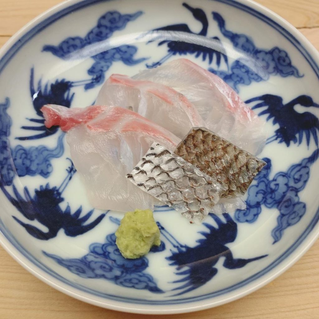 鮨 原正 料理