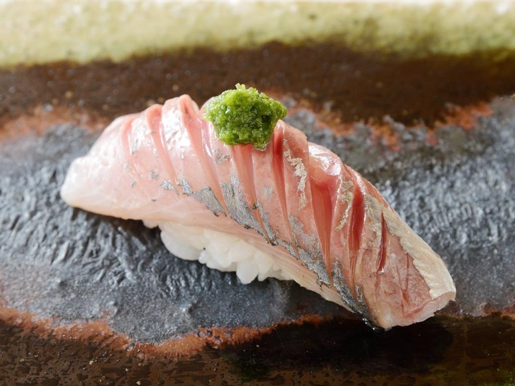 鮨 楽味 料理