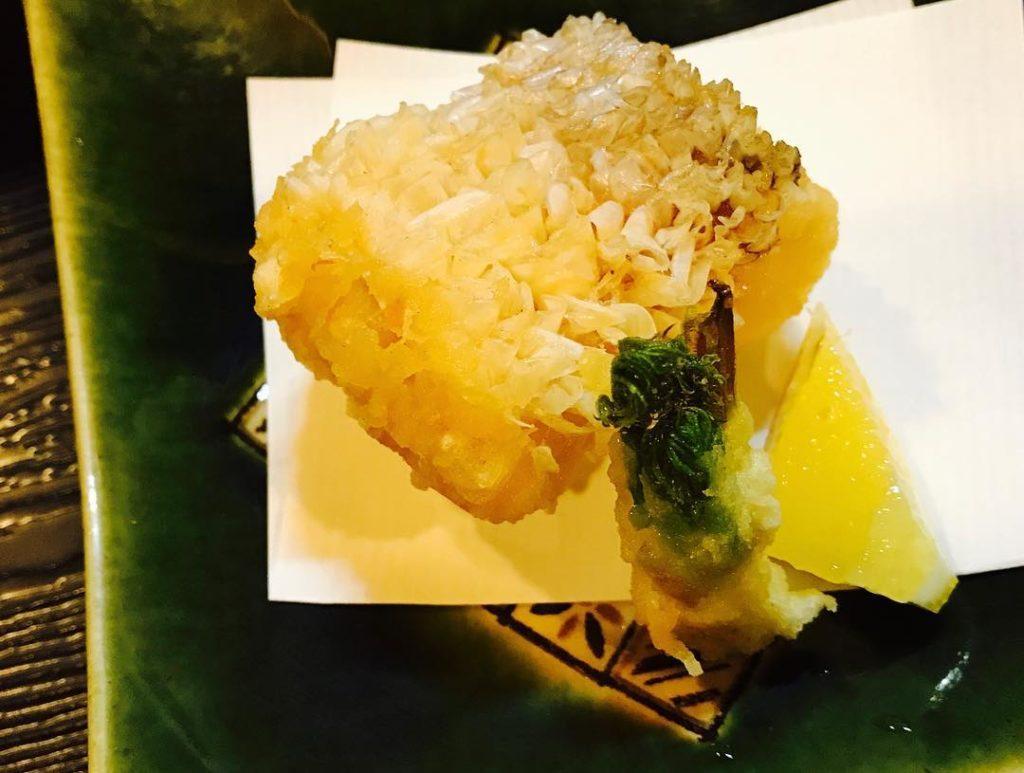 天ぷら よしおか 料理