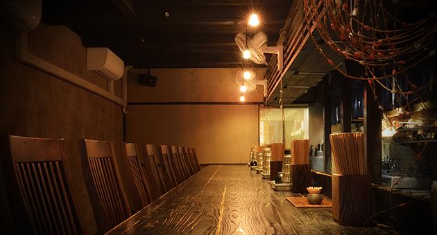 山元麺蔵 内観