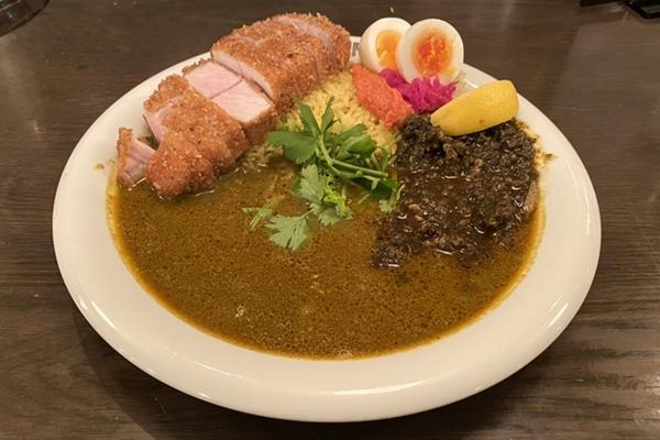 渡邊咖喱 本店 料理