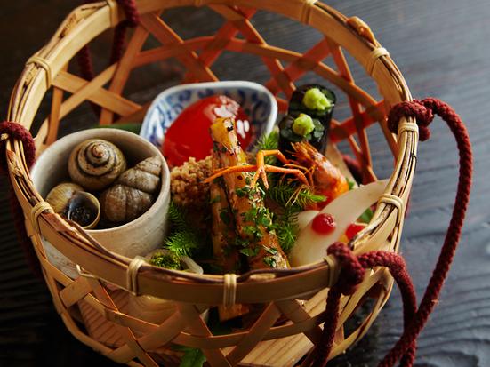 美山荘 料理