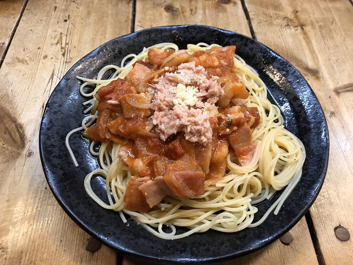 スパゲッティ専門店 タブキ トマトエルスパゲッティ